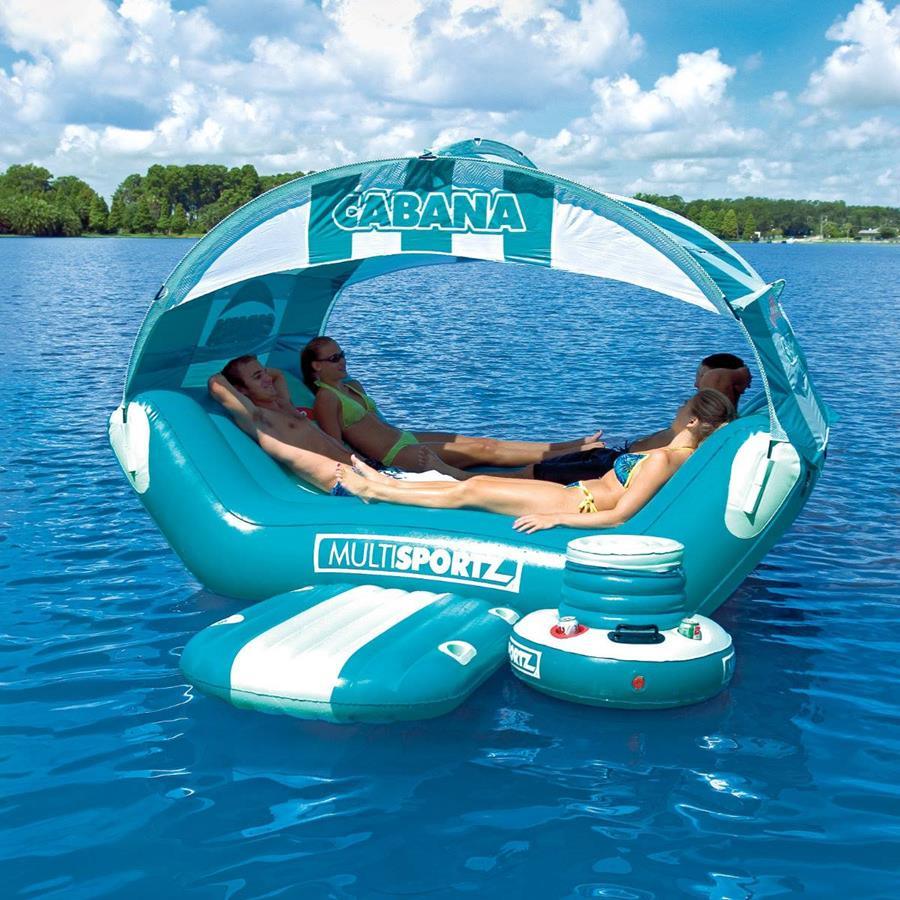 Inflatable Floating Island For Pool Parties