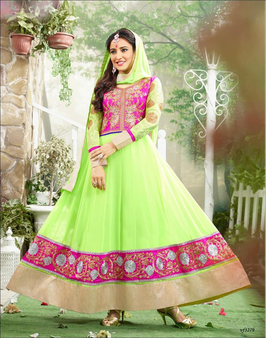 Latest Party Wear Frocks Designs For Indian Girls - Xcitefunnet-4531