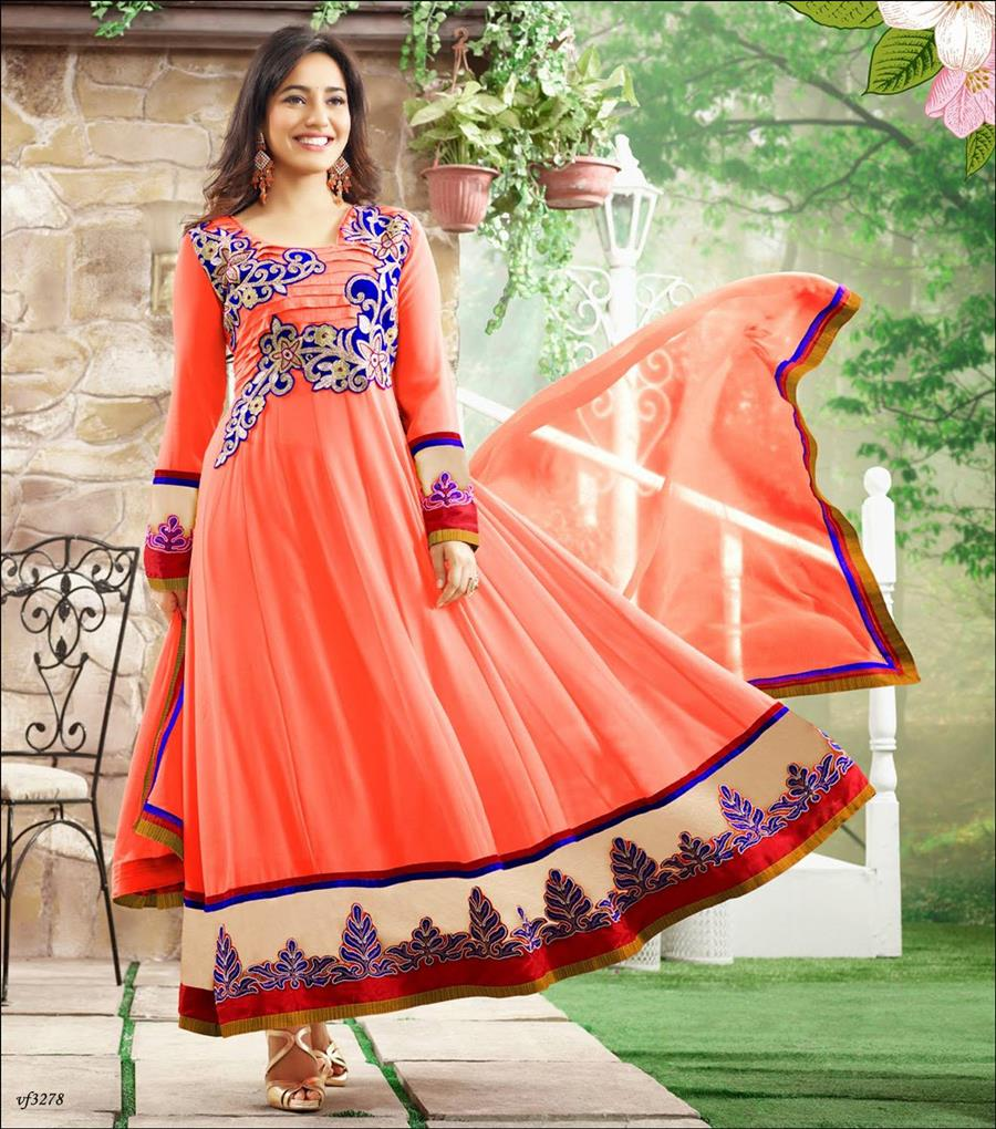 Zadnje stranka nositi obleke modelov za indijskega dekleta-5555