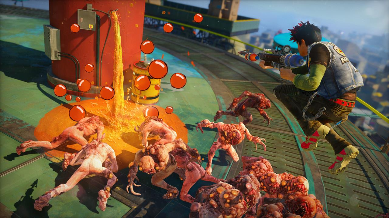 Sunset Overdrive Game Wallpapers