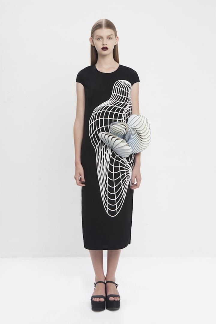 3d dress designer collection by noa raviv