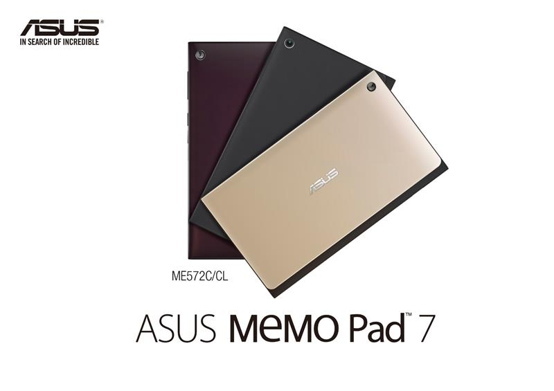 Asus Memo Pad 7 ME572CL Review
