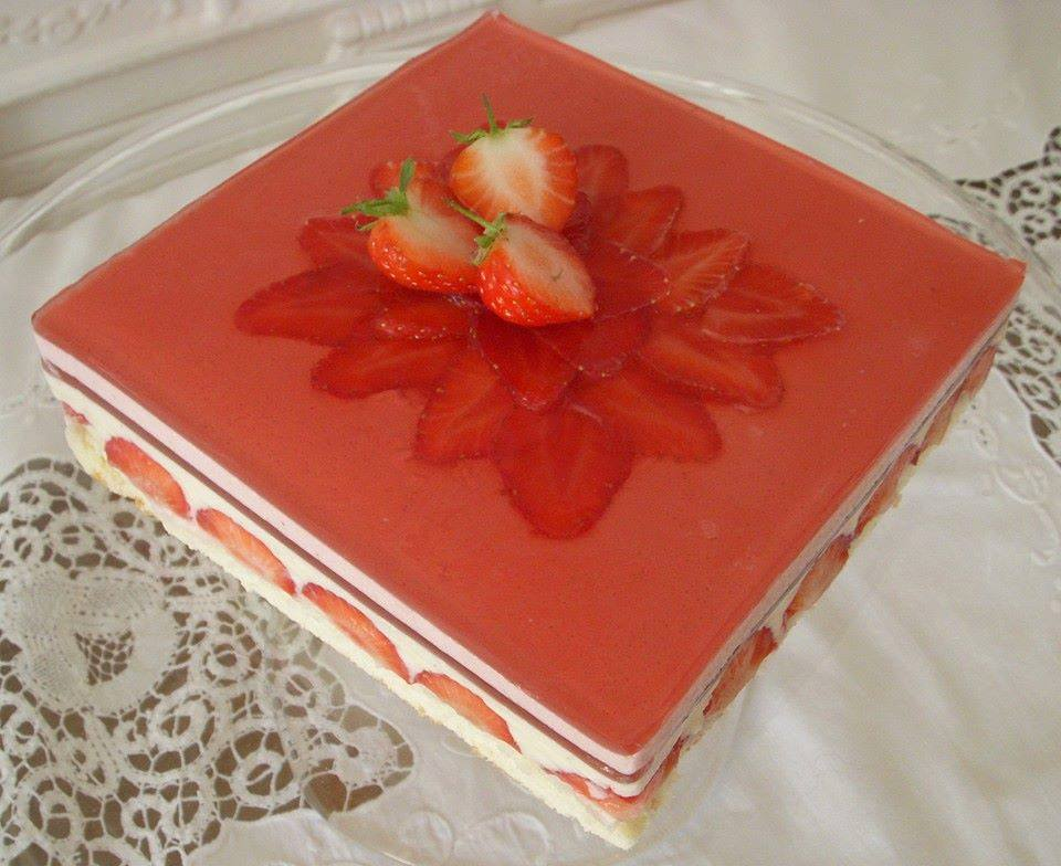 Strawberry Jelly Cakes For Cute Child Xcitefun Net
