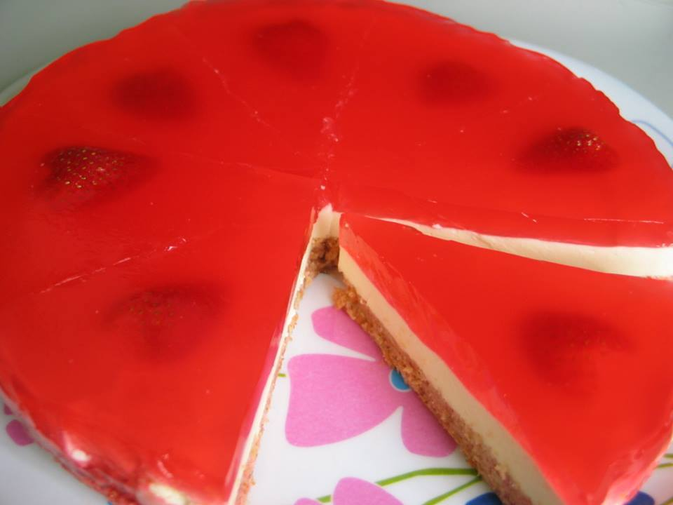 Strawberry Cake Recipe With Jelly: Strawberry Jelly Cakes For Cute Child