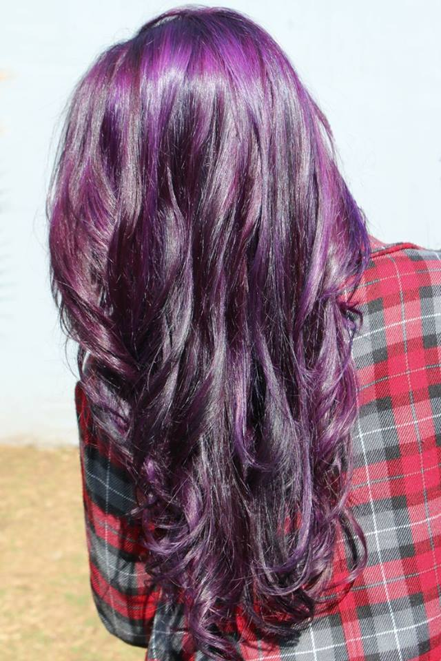 Different Shades Of Purple Hair