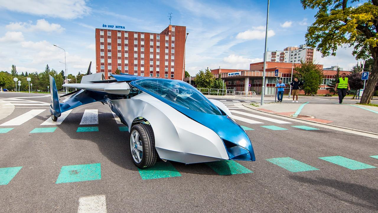 Flying cars: Radical concept design aims high