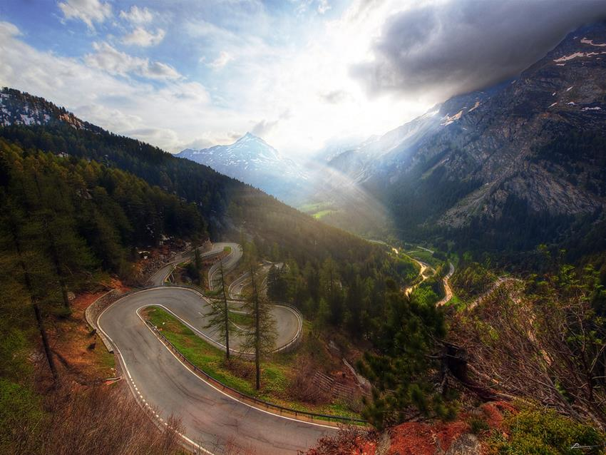 Road Trip To Maloja Pass Switzerland