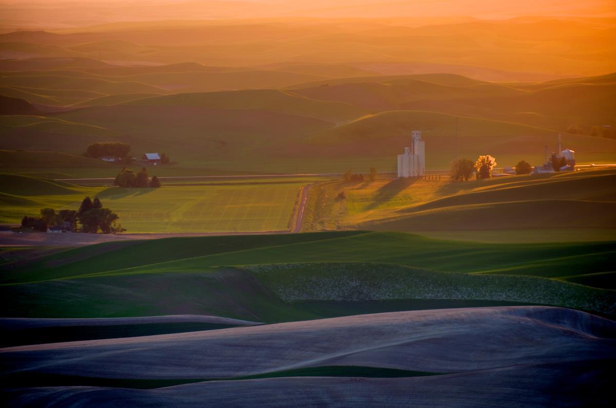 Astonishing Landscapes Of The Palouse Region Washington