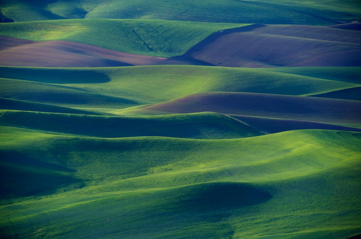 Astonishing Landscapes Of The Palouse Region Washington