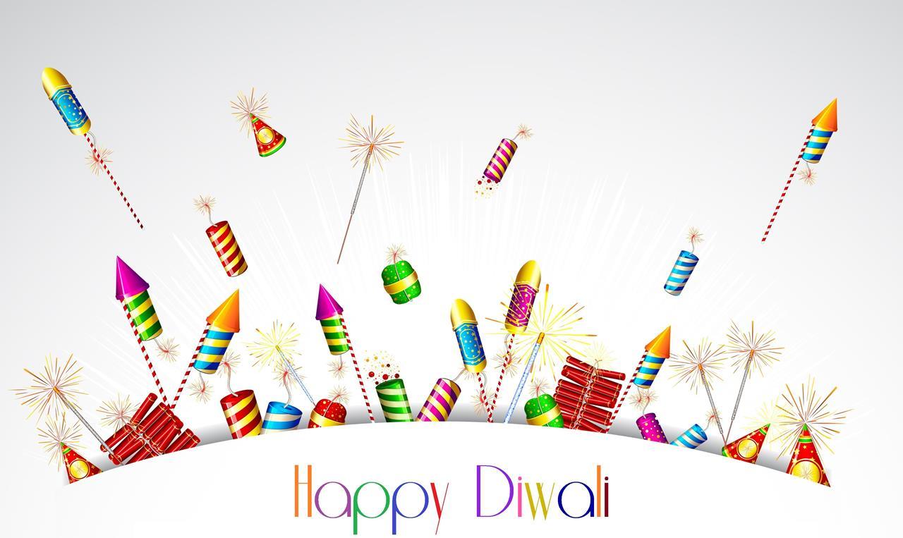 Happy Diwali Greeting Wallpapers