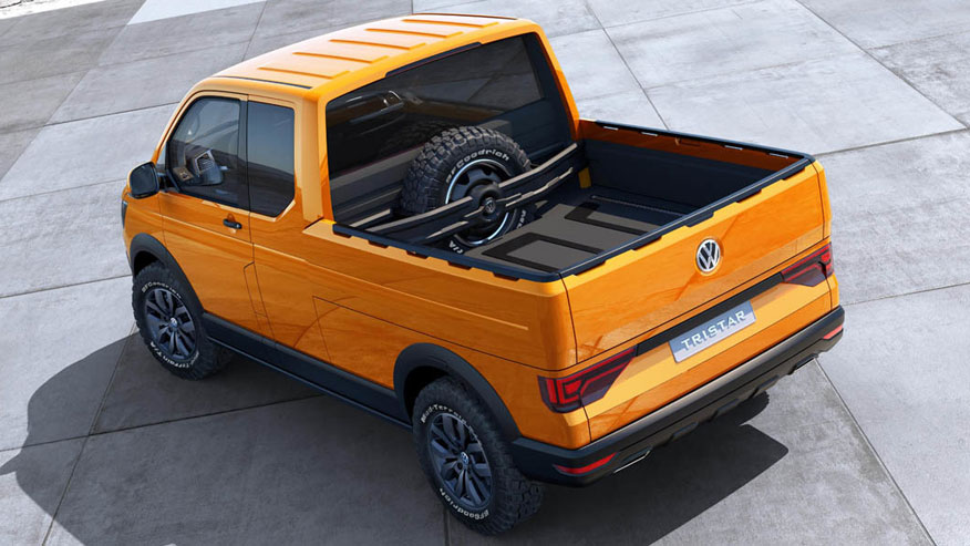 Volkswagen Tristar Futuristic Pickup Truck Xcitefun Net