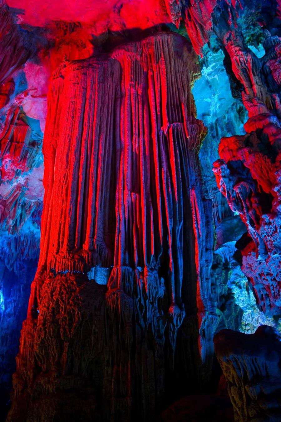 Reed Flute Cave Tourist Attraction In China Xcitefun Net