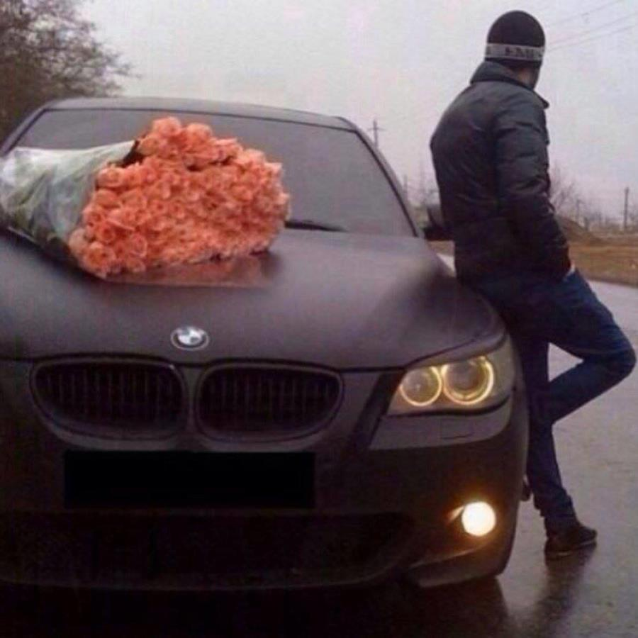 Bmw Rose Romantic Luxury Car Xcitefun Net