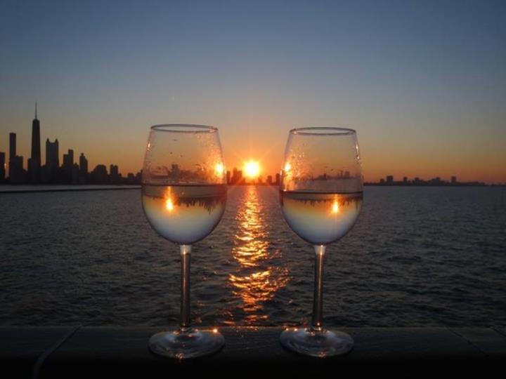 Sunset Photography Through Drinking Glass Xcitefun Net