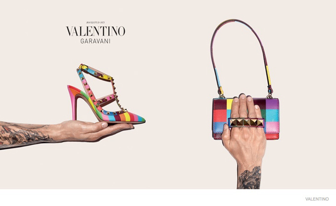 Valentino Shoes and Handbags Collection 2015