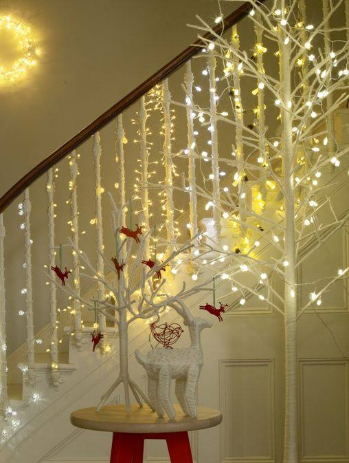 Latest Christmas Decoration Ideas For Staircase Virtual