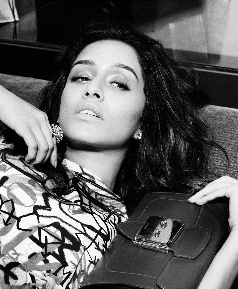 Shraddha Kapoor New Photo Shoot For LOfficiel