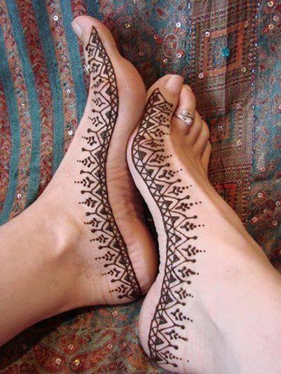 Feet Mehndi Mehndi Wallpapers Images : Bridal foot art new henna mehndi designs xcitefun