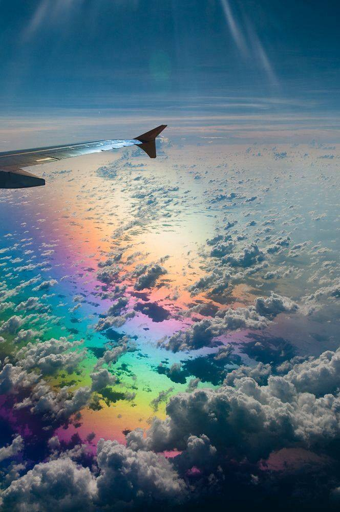Amazing Photographs Captured From Airplane Window ... Positive Space Photography