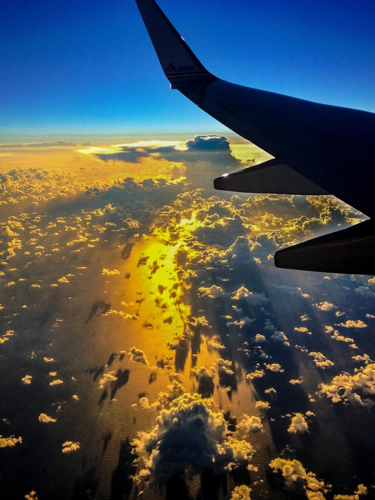 Amazing Photographs Captured From Airplane Window
