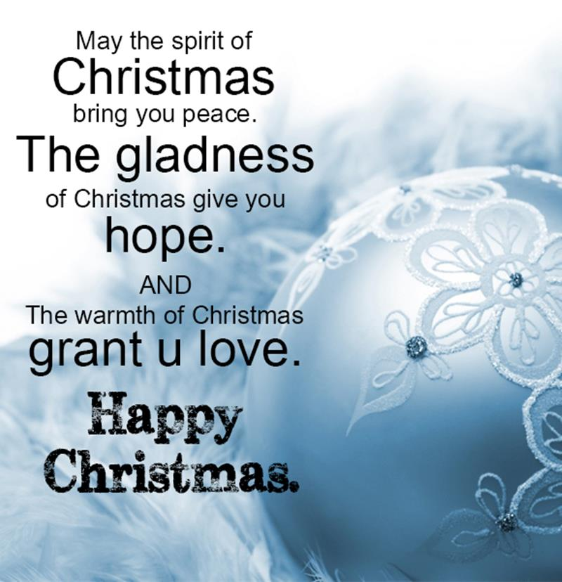 Happy Christmas Day Massages 2015 - Merry Christmas Quotes - XciteFun.net