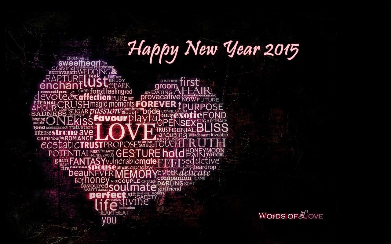 Love Wallpapers New 2014 : Happy New Year Wallpapers 2015 - XciteFun.net
