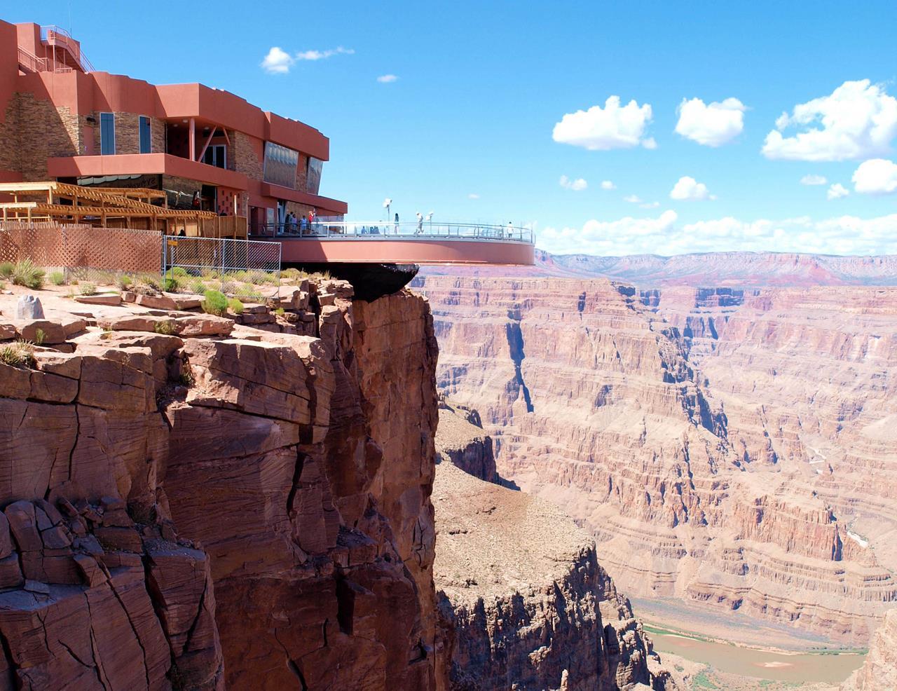 Skywalk Cafe Grand Canyon