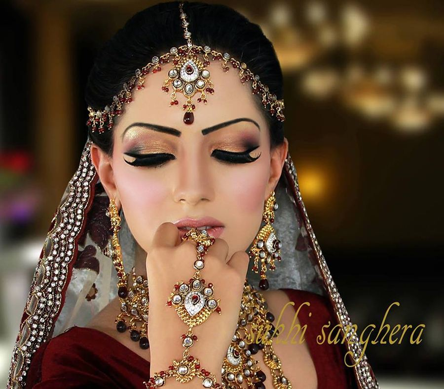 Latest Bridals New Makeup And Style 2015 - Virtual ...