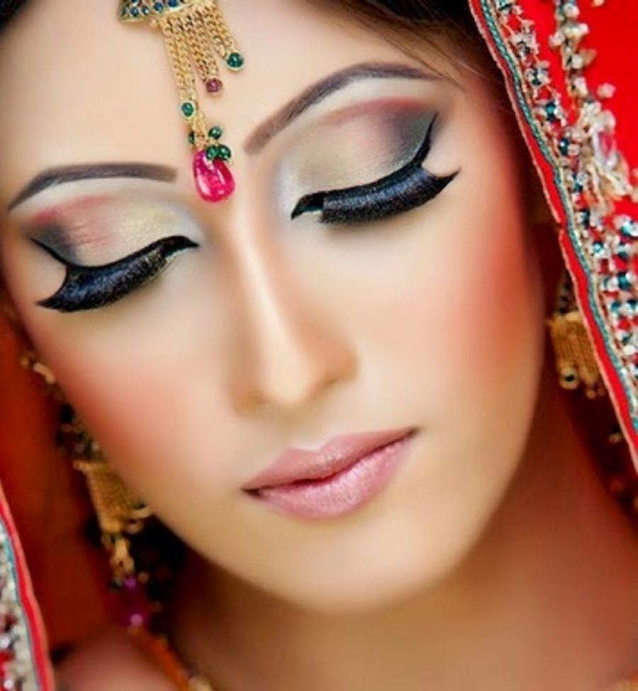 Latest Bridals New Makeup And Style 2015 Virtual