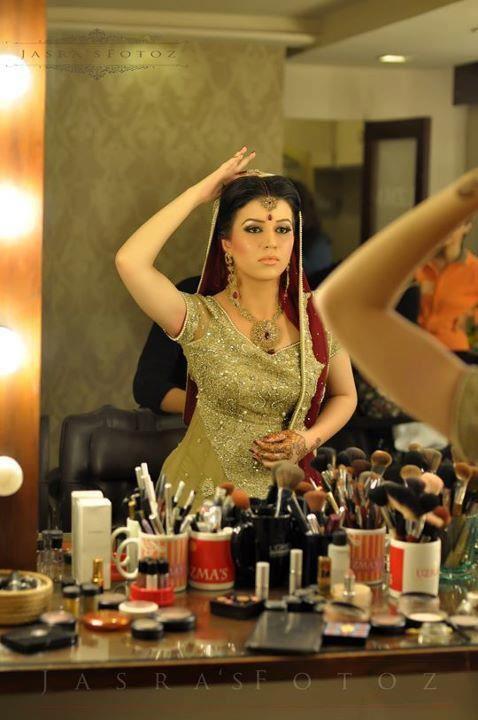 Valima bridal memorable event by uzma salon for Asma t salon lahore
