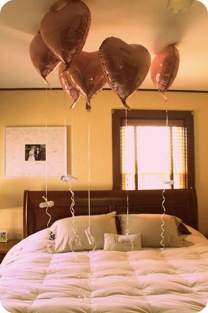 Romantic Bedroom Surprise: Romantic Birthday Morning Surprise