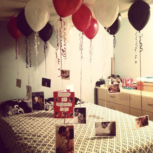 Best 25 Birthday Surprises For Him Ideas Only On: Romantic Birthday Morning Surprise