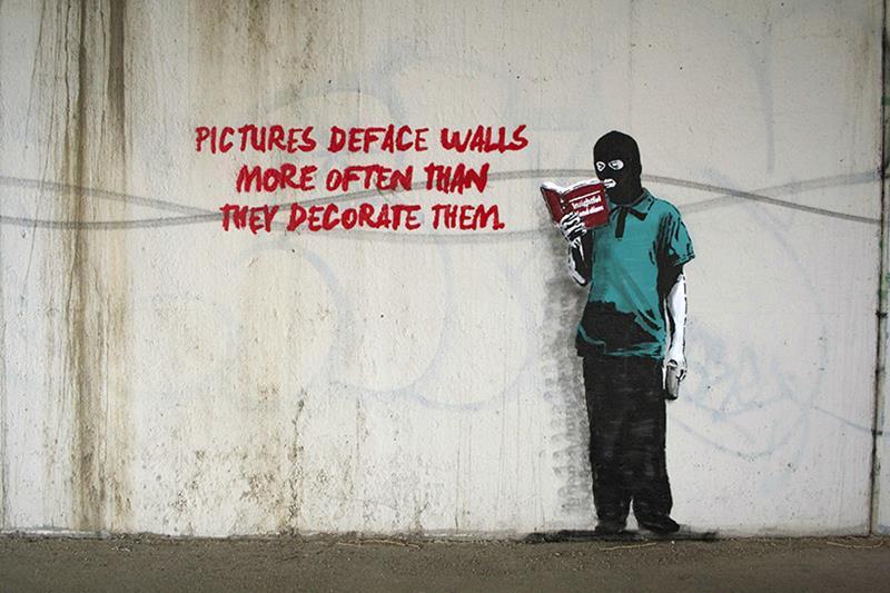 Nobody Likes Me Social Media Artwork By Banksy