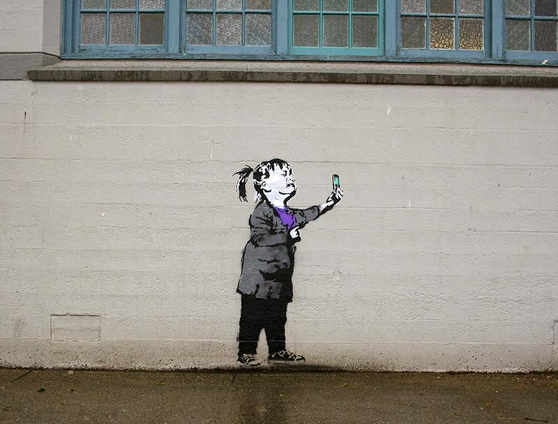 Nobody Likes Me Social Media Artwork by Banksy