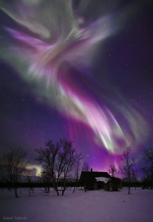 Amazing Purple Aurora Borealis Xcitefun Net