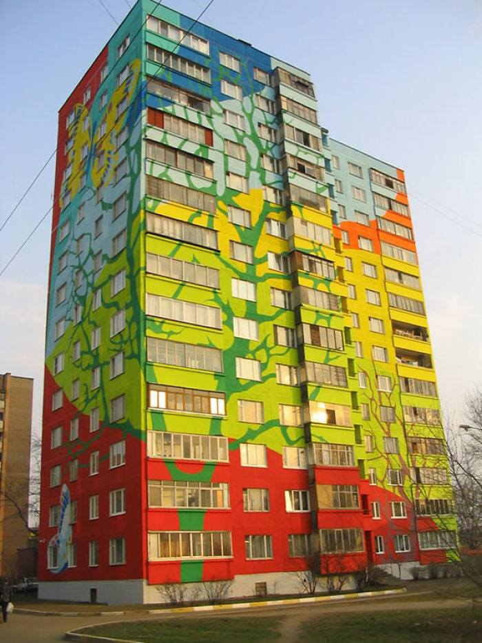 Most Colorful Buildings Around The World - XciteFun.net