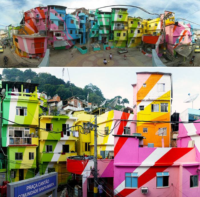 Colorful Buildings: Most Colorful Buildings Around The World