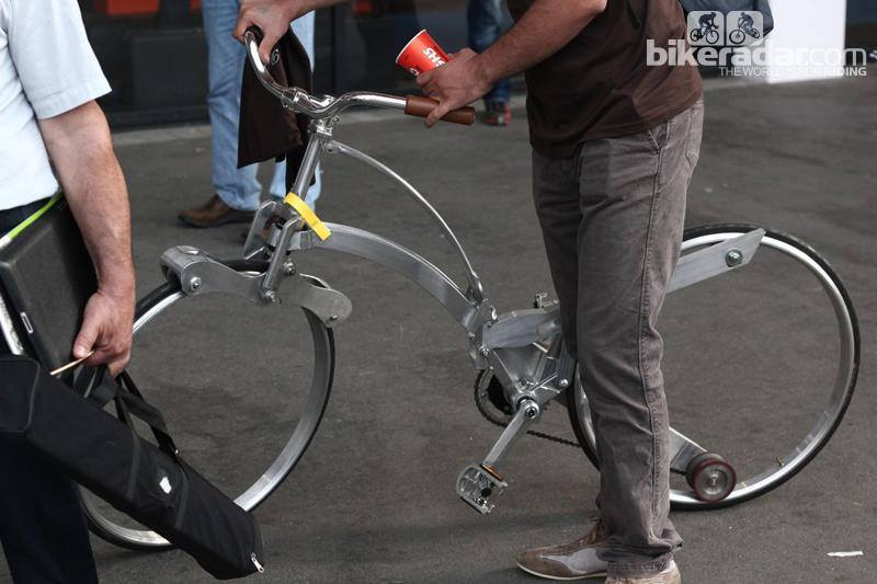Fold Up Bicycle >> Spokeless Bicycle Concept Design by Sada Bike - XciteFun.net