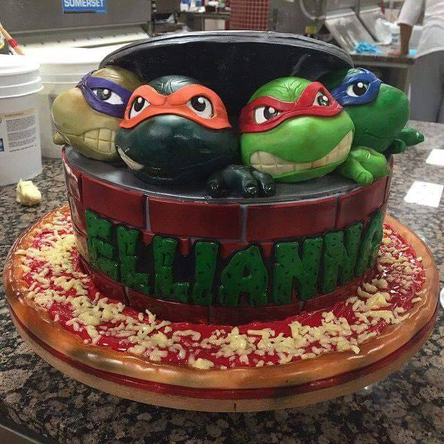 Ninja Turtle Birthday Cake Designs - XciteFun.net