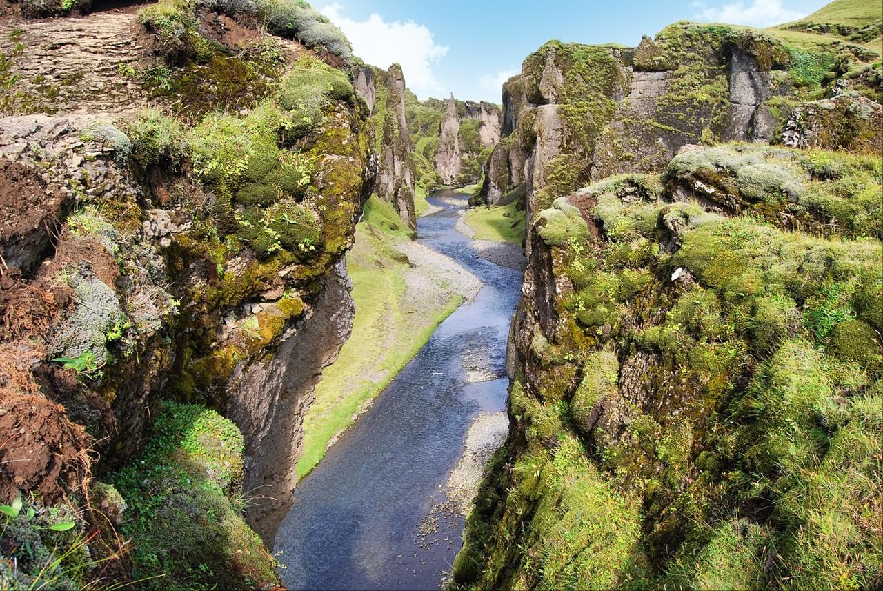 Visit To Fjadrargljufur Canyon Iceland Xcitefun Net