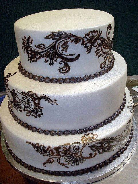 Mehndi Cake Designs : Henna cakes designs for wedding xcitefun