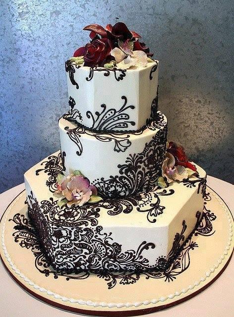 Mehndi Cake Recipe : Henna cakes designs for wedding xcitefun