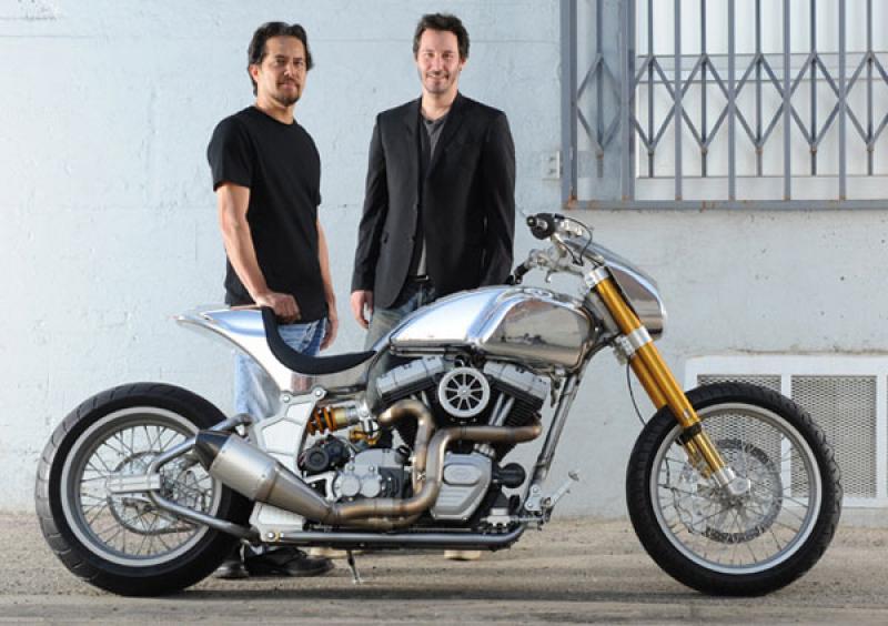 Keanu Reeves Motorcycle Company