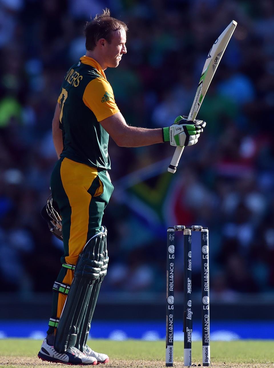 AB De Villiers Powerful Batting of Fastest ODI 150 ...