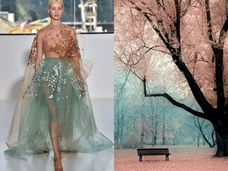 Nature Inspired Dresses by Liliya Hudyakova
