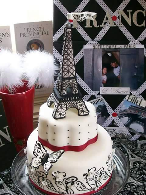 Eiffel Towers Birthday Cake Designs Xcitefun Net
