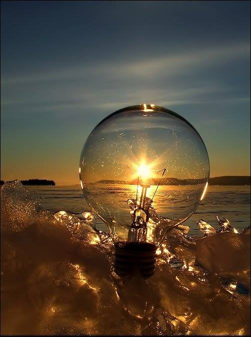 Sunset Light Photography Through The Bulb Xcitefun Net