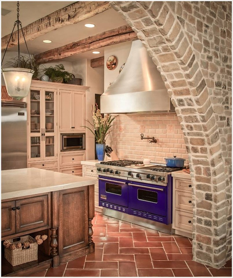 Modern Latest Kitchen Interior Designs With Purple Passion  Virtual