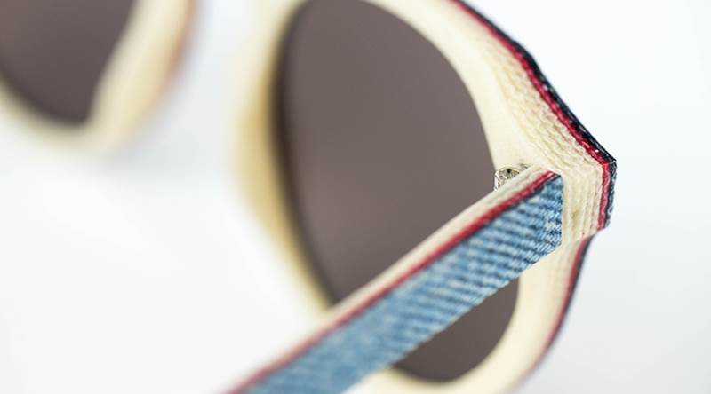 Solid Denim Collection of Sunglasses by Mosevic