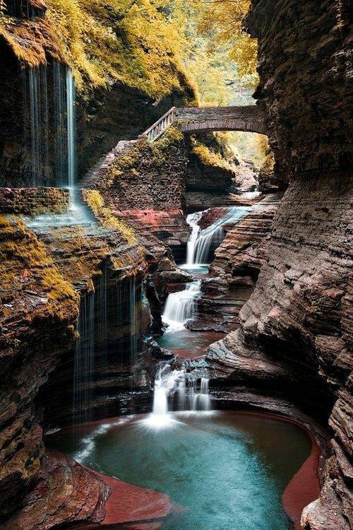 Amazing View of Cool Waterfalls Around The World